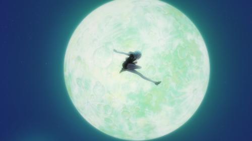 Houseki no Kuni / Episode 3 / Dia jumping through the midnight air