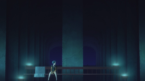 Houseki no Kuni / Episode 10 / Phos sitting by their lonesome