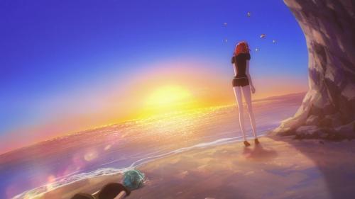 Houseki no Kuni / Episode 5 / Cinnabar upset at herself for failing Phos