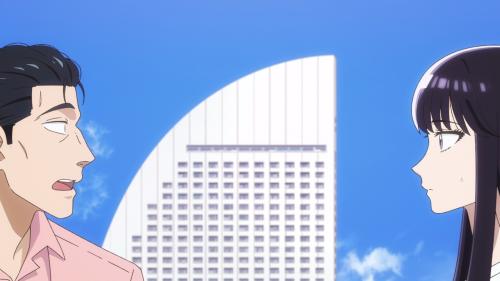 Koi wa Ameagari no You ni / Episode 2 / Mr. Kondou and Akira speaking with each other