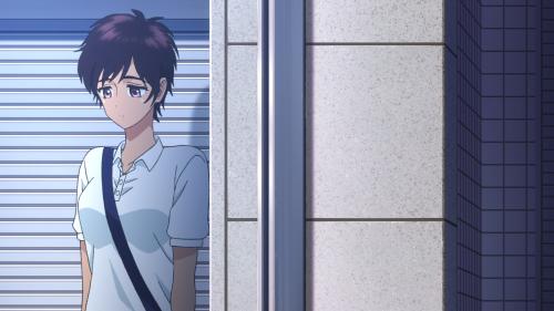 Koi wa Ameagari no You ni / Episode 6 / Haruka hiding from Akira