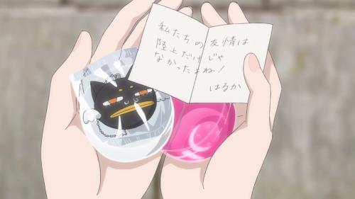 Koi wa Ameagari no You ni / Episode 6 / Akira receiving a kindhearted message from her dear friend Haruka