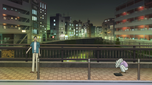 Koi wa Ameagari no You ni / Episode 9 / Mr. Kondou and Chihiro talking out in public