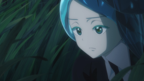 Houseki no Kuni / Episode 6 / Phos watching over Cinnabar
