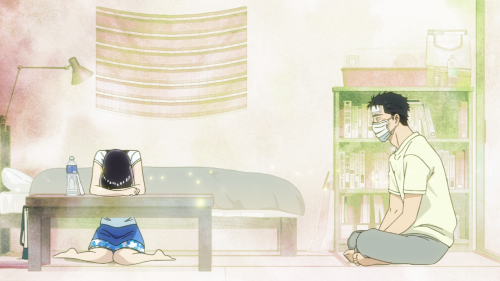 Koi wa Ameagari no You ni / Episode 7 / Akira and Mr. Kondou trying to communicate with each other