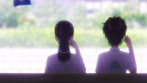 Koi wa Ameagari no You ni / Episode 9 / Akira and Haruka hanging out together