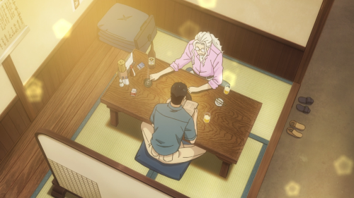 Koi wa Ameagari no You ni / Episode 9 / Mr. Kondou and Chihiro catching up as old friends