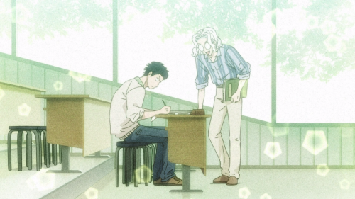 Koi wa Ameagari no You ni / Episode 9 / Mr. Kondou and Chihiro as classmates in the past