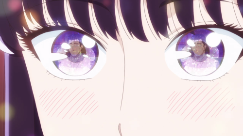 Koi wa Ameagari no You ni / Episode 2 / Akira looking at Mr. Kondou with all her heart