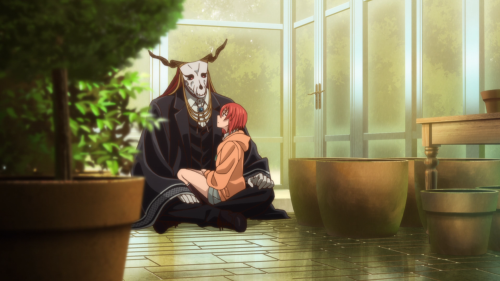 Mahoutsukai no Yome / Episode 13 / Elias and Chise talking with one another