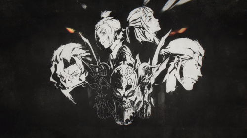 Garo: Vanishing Line / Episode 11 / A frame taken from the first opening track