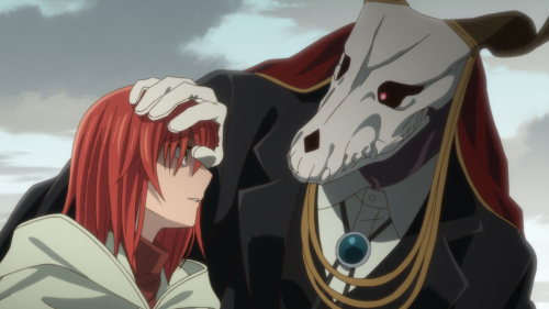 Mahoutsukai no Yome / Episode 20 / Elias noting Chise and her shortcomings
