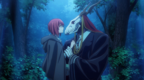 Mahoutsukai no Yome / Episode 1 / Chise and Elias together