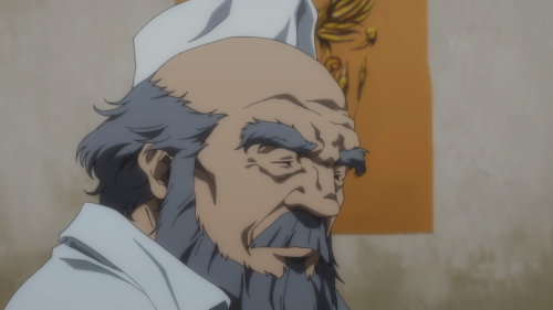 Garo: Vanishing Line / Episode 10 / Fei-Long speaking with Luke