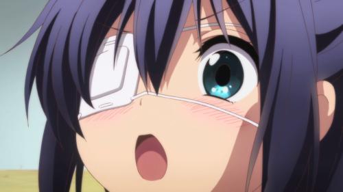 Chuunibyou demo Koi ga Shitai / Episode 4 / Rikka in complete awe