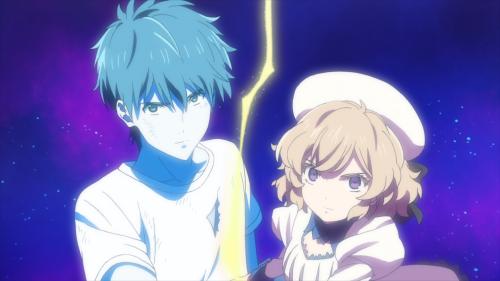 Kyokou Suiri / Episode 11 / Kurou and Kotoko working together to predict the future