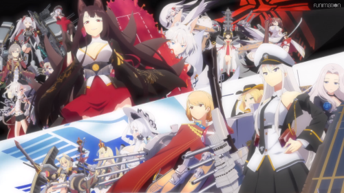 Azur Lane / Episode 2 / A stylized showcase of the warring factions