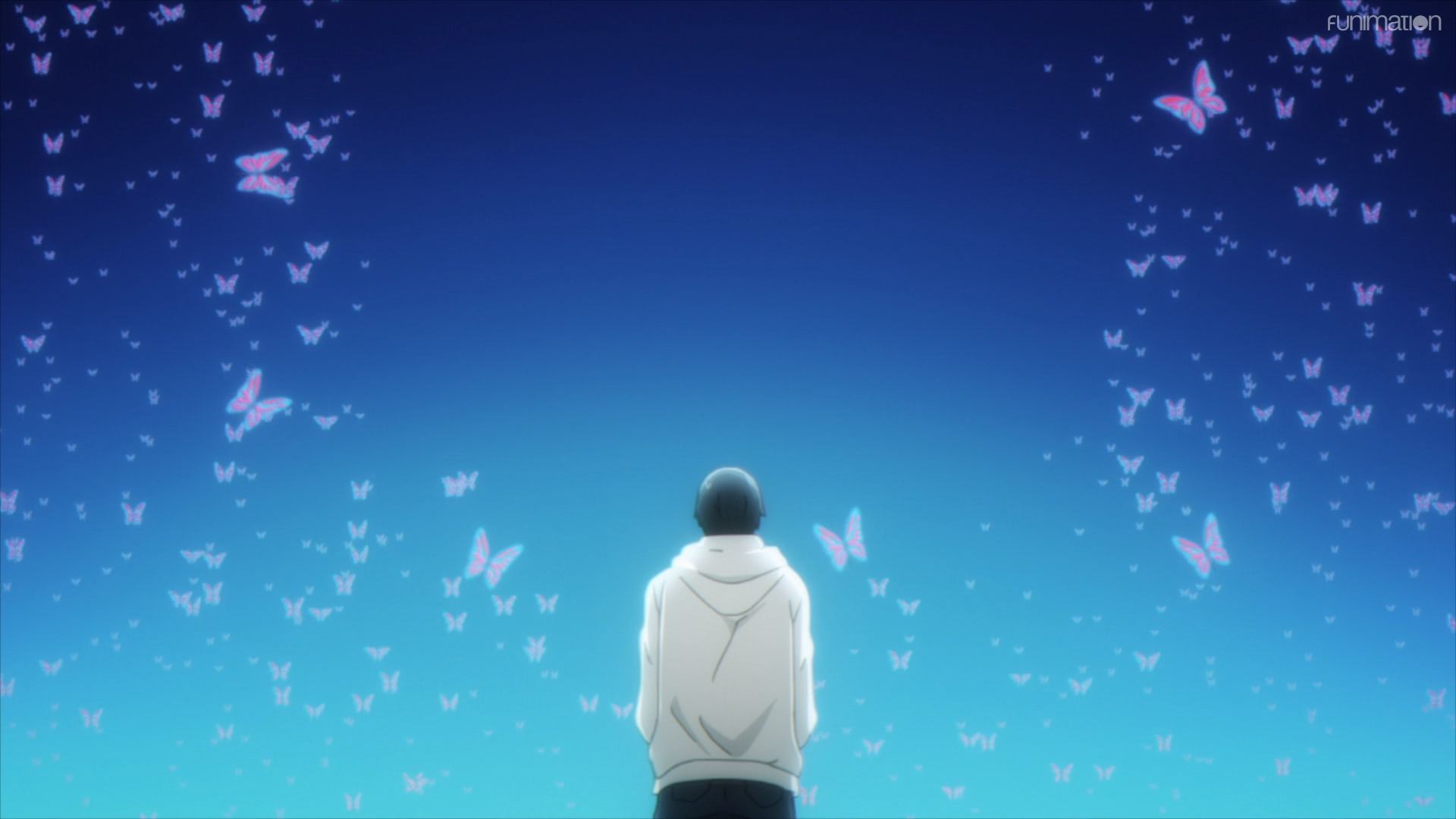 Darwin's Game / Episode 11 / Kanama seeing a myriad of butterflies