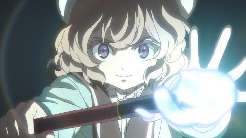 Kyokou Suiri / Episode 6 / Kotoko about to perform some yokai magic